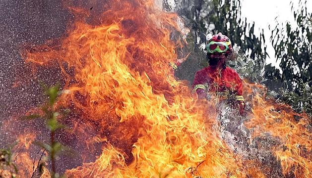 Portugal lluita contra l'incendi més complicat de l'estiu.