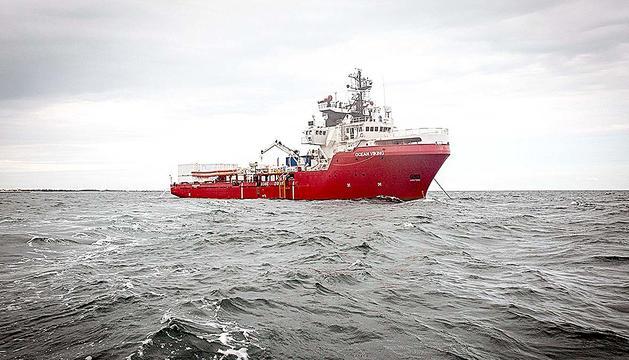 L'Ocean Viking, el nou vaixell de SOS Mediterranée i MSF.