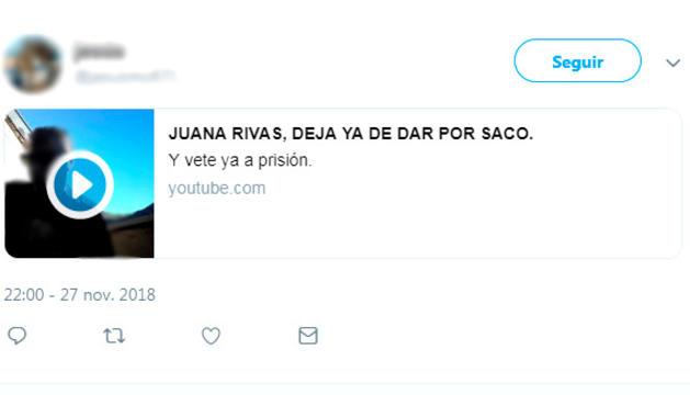 L'home compartia els vídeos de Youtube al seu compte de Twitter.