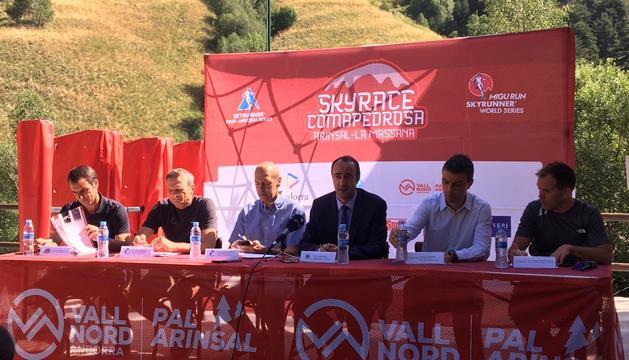 Roda de premsa de la Skyrace Comapedrosa a Arinsal