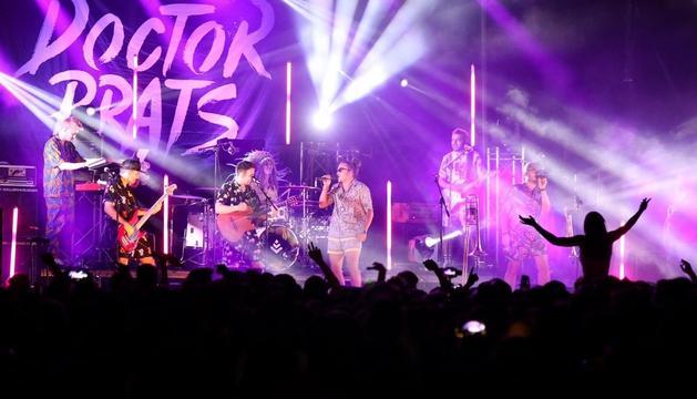 Concert de la banda Doctor Prats a Escaldes-Engordany