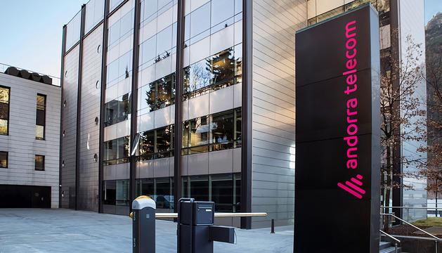 Seu d'Andorra Telecom.