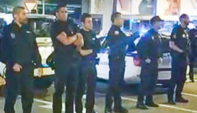 Policia a Sant Julià