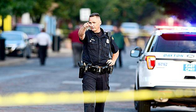 La policia va arribar en pocs minuts al lloc dels fets.
