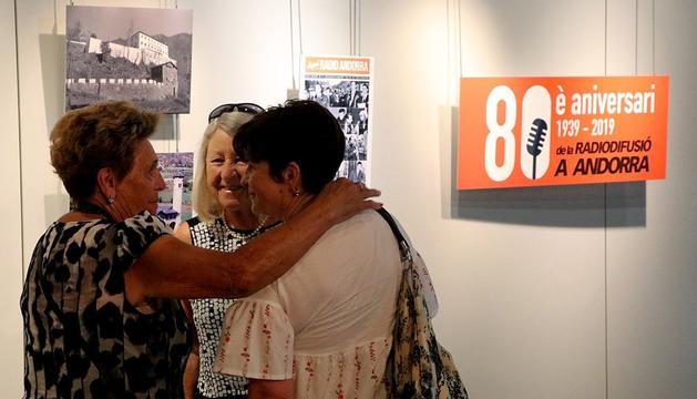 La mostra fotogràfica de Radio Andorra i Sud-Ràdio.