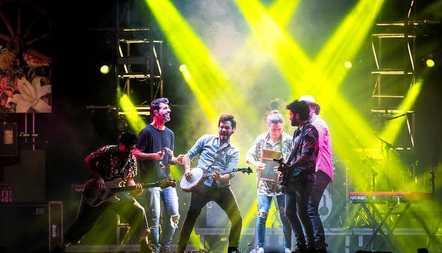 El concert del grup Morat es va veure afectat.