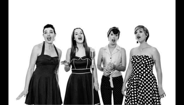 Les Fourchettes i la música 'a cappella'