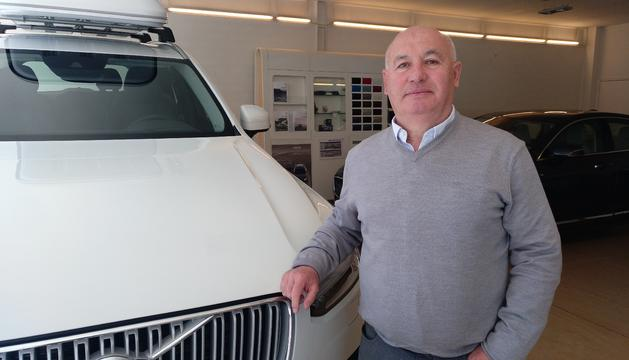 El president de l'Associació d'Importadors de Vehicles d'Andorra, Xavier Calvis