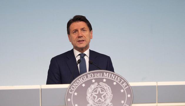 El primer ministre italià, Giuseppe Conte