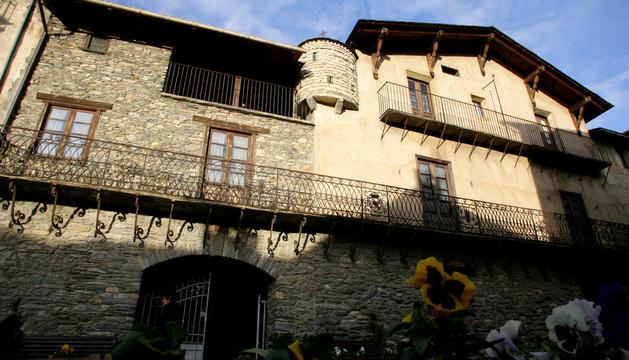 La casa museu d'Areny-Plandolit a Ordino.