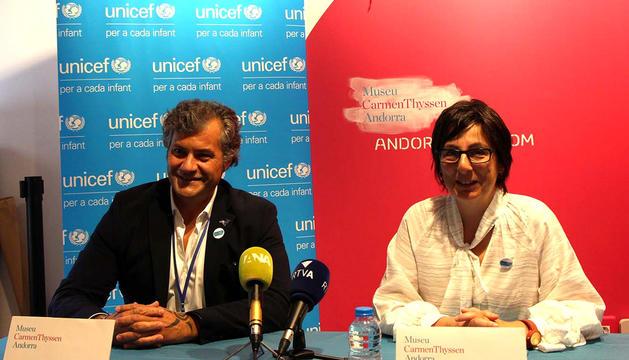 Cervera i Marta Alberch van presentar la iniciativa conjuntament.