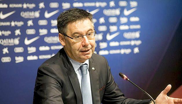 Josep Maria Bartomeu no es va trobar amb el xeic del PSG.