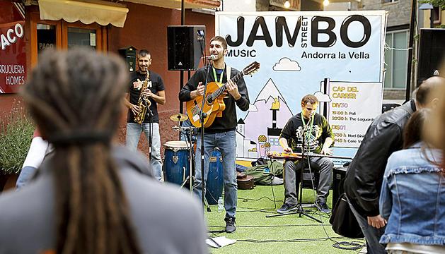 La banda andorrana torna una setmana després a Canillo.