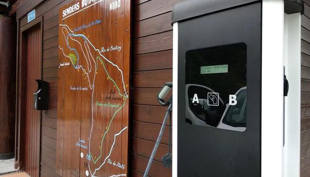 El nou carregador del parc natural del Sorteny.