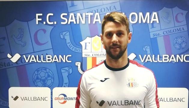 Àlex Sánchez fitxa pel Vall Banc Santa Coloma