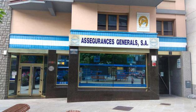 Seu central d'Assegurances Generals.