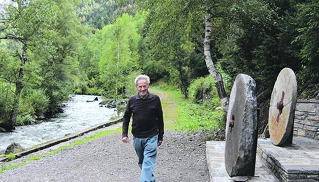 Antoni Naudí, un dels veïns d'Ansalonga que han impulsat la iniciativa