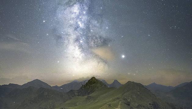 La imatge de les estrelles.