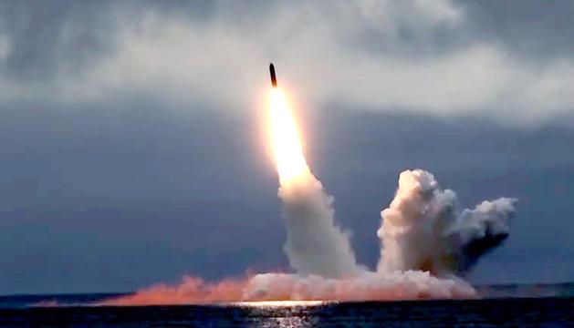 Míssil llançat pel govern rus en resposta als EUA.