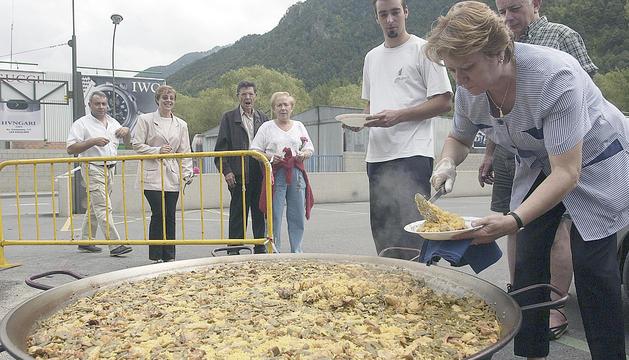 Menjar per a tothom a Santa Coloma