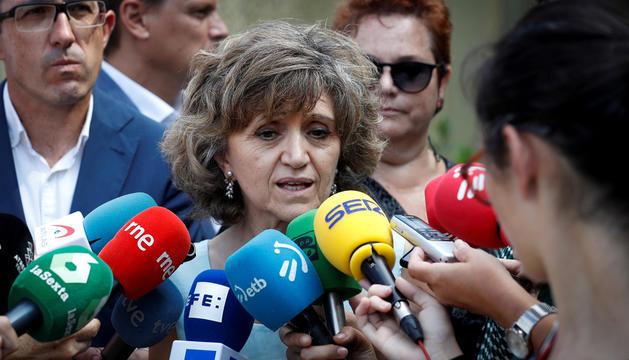 La ministra de Sanitat, María Luisa Carcedo, compareixerà la setmana que ve al Congrés.