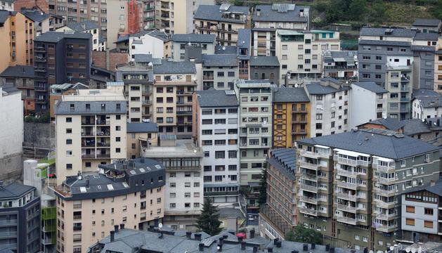 Edificis d'habitatges a la parròquia d'Andorra la Vella.