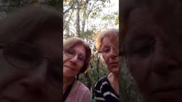 Dues dones argentines perdudes al bosc