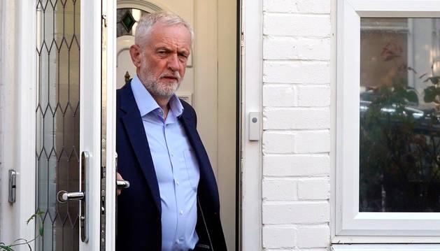El líder del Partit Laborista britànic,Jeremy Corbyn.
