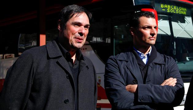 Salustià Chato i Jordi Gallardo.