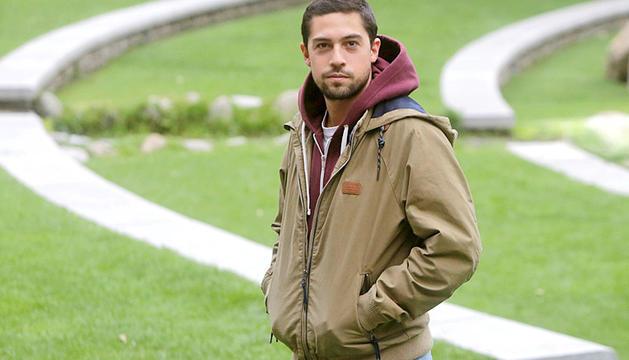 El director de 'Le Blizzard', Álvaro Rodríguez-Areny