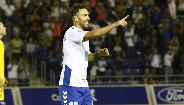 El nou jugador de l'FC Andorra, Víctor Casadesús.