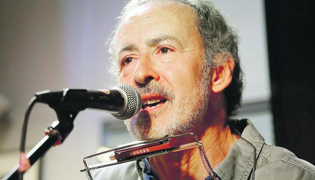 El barceloní Eloy Pardo, que a La Fada presentarà temes dels cinc discos ja publicats.