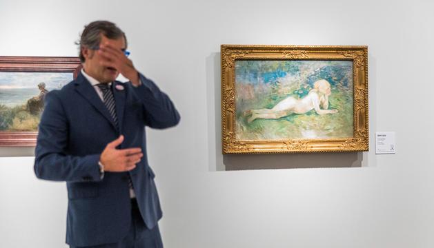 Dia de la presentació de l'exposició