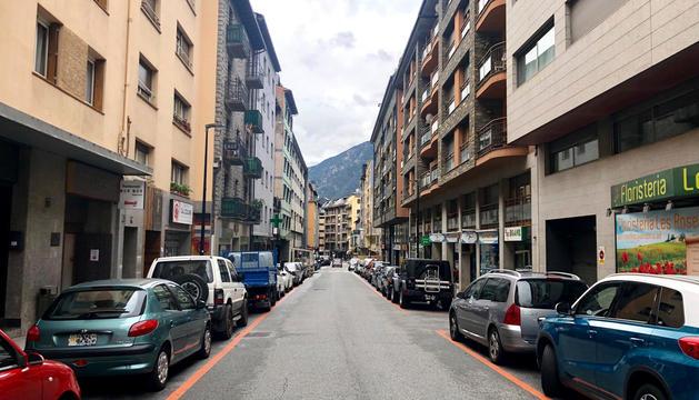 L'avinguda Doctor Mitjavila d'Andorra la Vella.