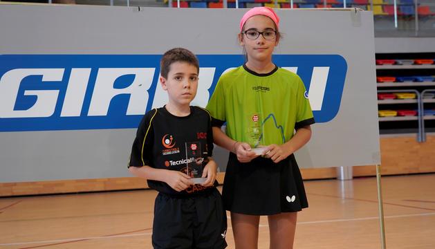 Oriol Martínez i Salomé Lepont.