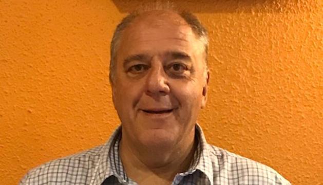 El candidat a president de la FAF Carles Riba.