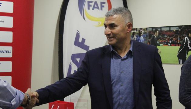 El nou president de la Federació Andorrana de Futbol, Fèlix Àlvarez.