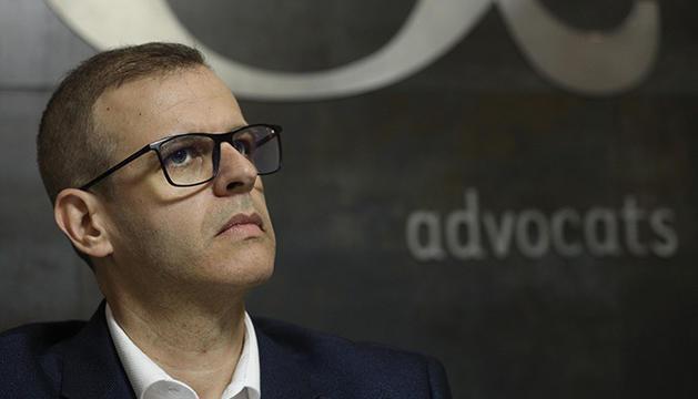 L'advocat Josep Antoni Silvestre