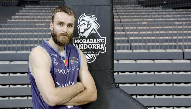 David Jelinek afronta la quarta temporada al MoraBanc i ja és un dels capitans.