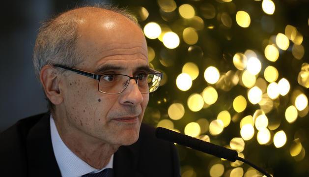 Toni Martí va concedir al Diari la primera entrevista després del retorn a Andorra.