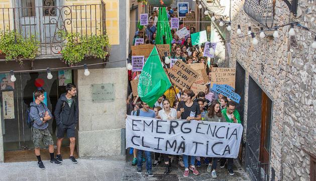 marxa, Manifestació divendres pel futur