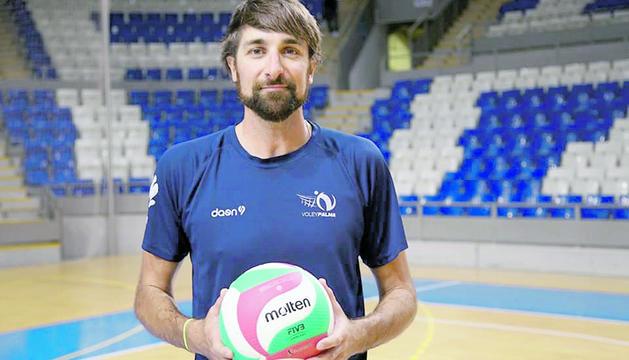 El jugador de voleibol Abel Bernal