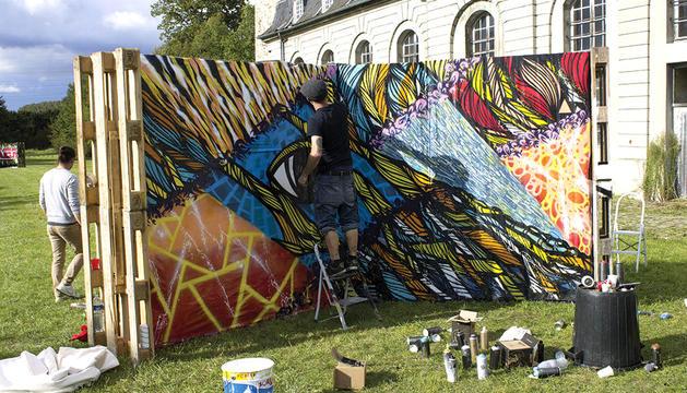 Primer festival d'art urbà, a Escaldes