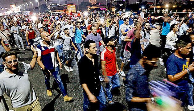 Protestes al Caire contra el president d'Egipte