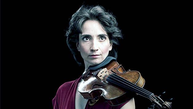 La violinista, que actuarà com a concertino-directora.