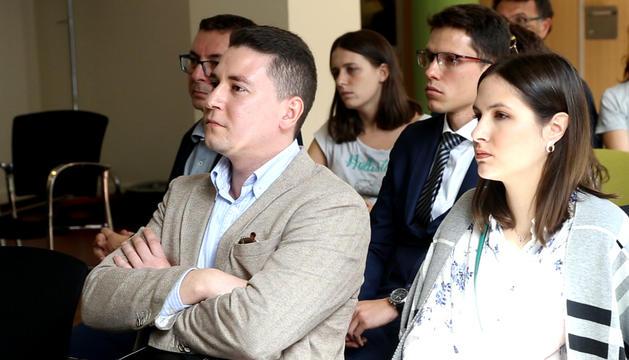 Assistents a la reunió informativa a l'UdA.