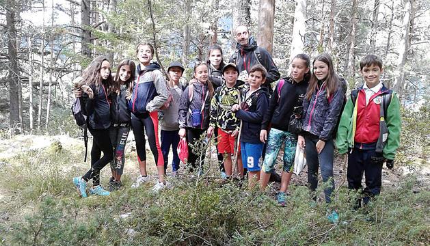Nens i nenes de Sagrada Família aprenen la flora i la fauna del país