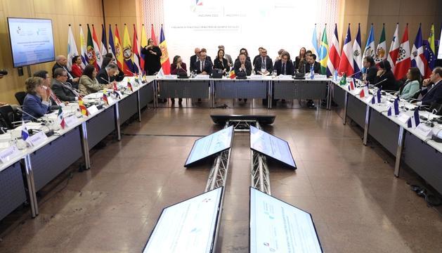 La reunió de ministres ha començat amb la intervenció del cap de Govern