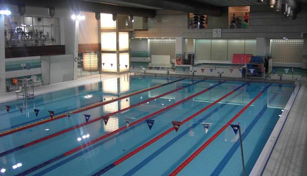 La piscina de Sant Julià de Lòria.