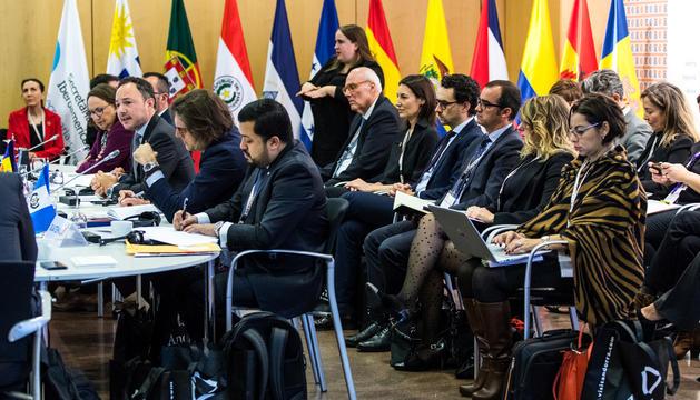 Espot posa en valor l'aposta per la inclusió de l'Escola Andorrana en l'obertura de la Cimera.
